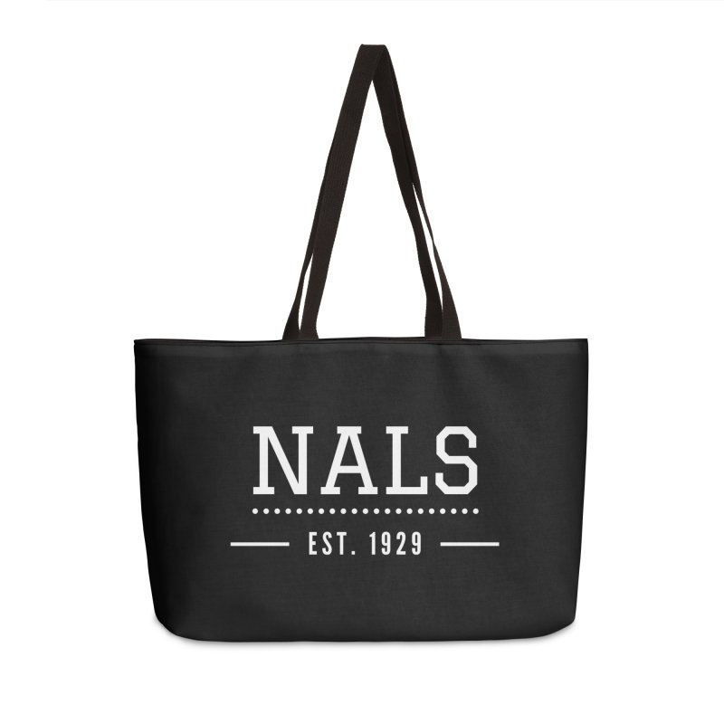 NALS: Established in 1929 Accessories Weekender Bag Bag by NALS Apparel & Accessories