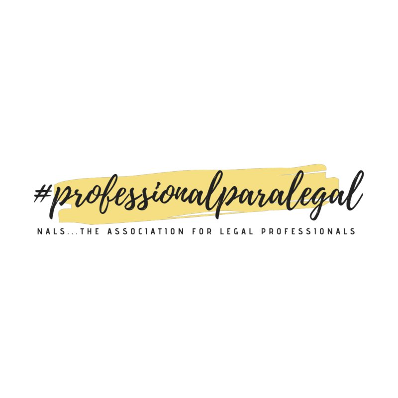 Professional Paralegal Accessories Sticker by NALS Apparel & Accessories