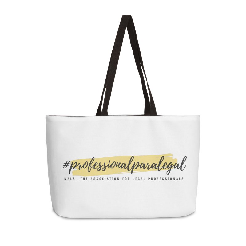 Professional Paralegal Accessories Weekender Bag Bag by NALS Apparel & Accessories