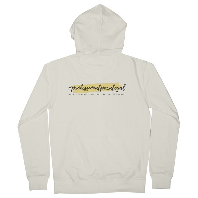 Professional Paralegal Women's French Terry Zip-Up Hoody by NALS Apparel & Accessories