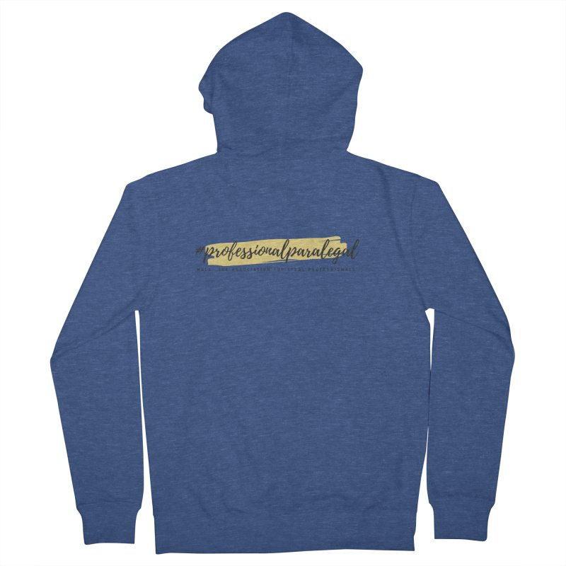Professional Paralegal Men's Zip-Up Hoody by NALS Apparel & Accessories