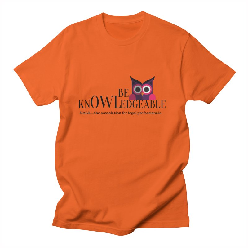 Be Knowledgeable Men's T-Shirt by NALS Apparel & Accessories
