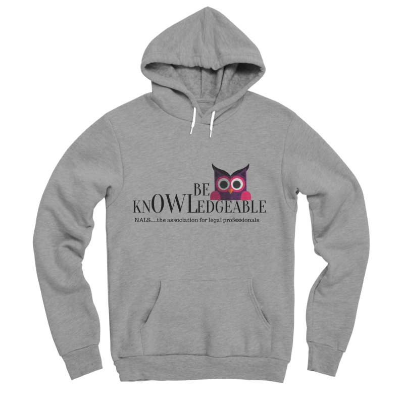 Be Knowledgeable Men's Sponge Fleece Pullover Hoody by NALS Apparel & Accessories