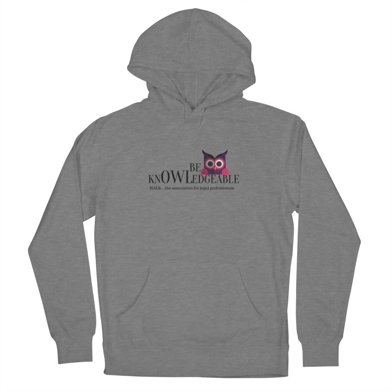 Be Knowledgeable Women's Pullover Hoody by NALS Apparel & Accessories