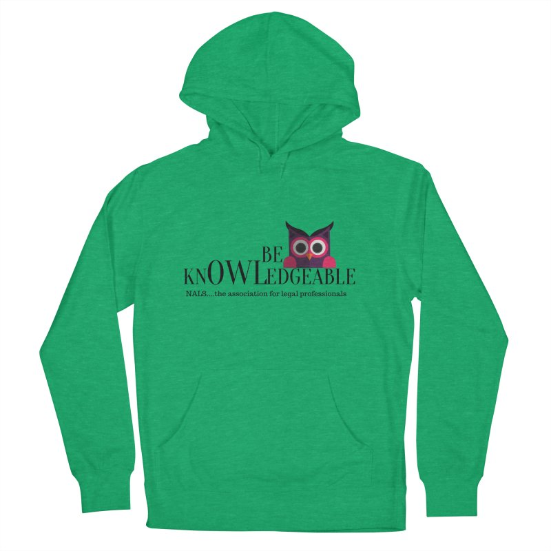 Be Knowledgeable Men's French Terry Pullover Hoody by NALS Apparel & Accessories