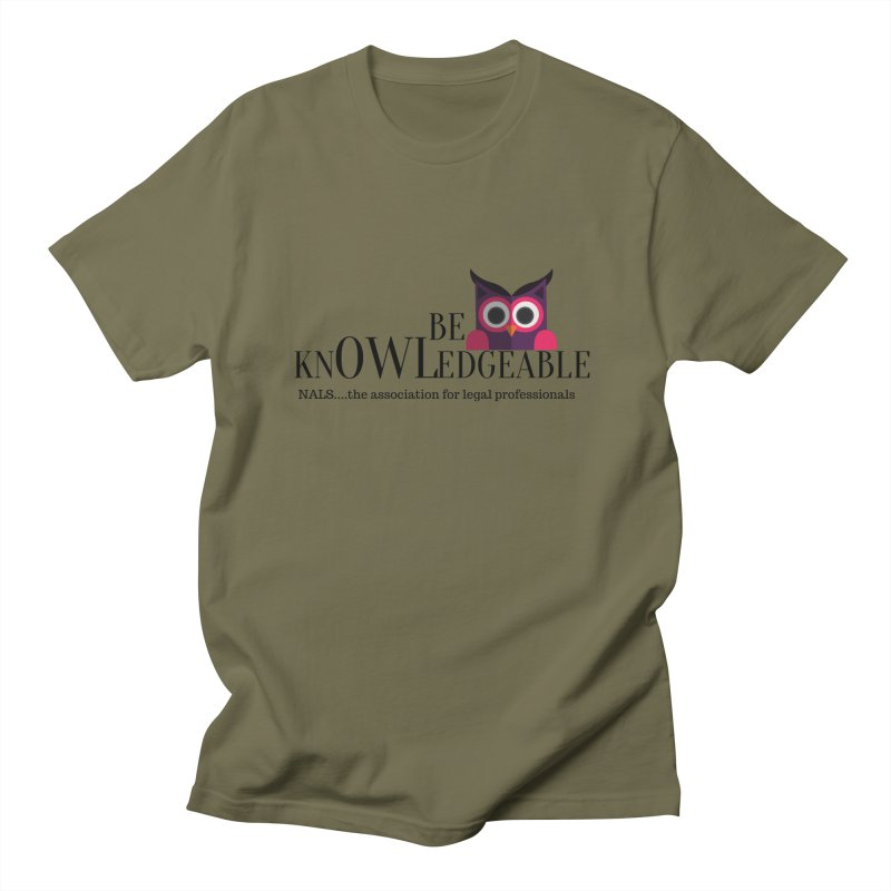 Be Knowledgeable Women's Regular Unisex T-Shirt by NALS Apparel & Accessories