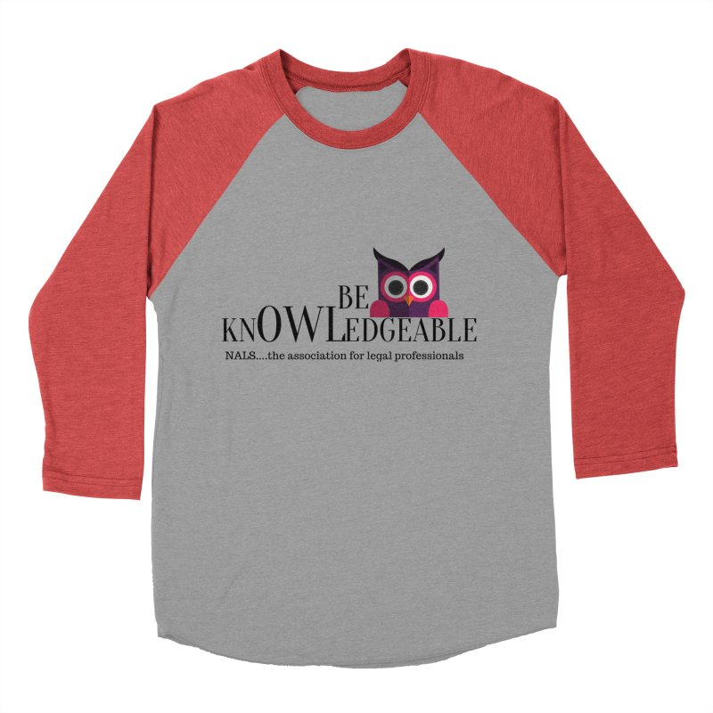 Be Knowledgeable Men's Baseball Triblend Longsleeve T-Shirt by NALS Apparel & Accessories