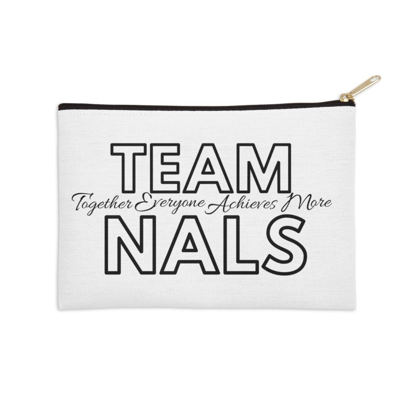 Team NALS Accessories Zip Pouch by NALS Apparel & Accessories