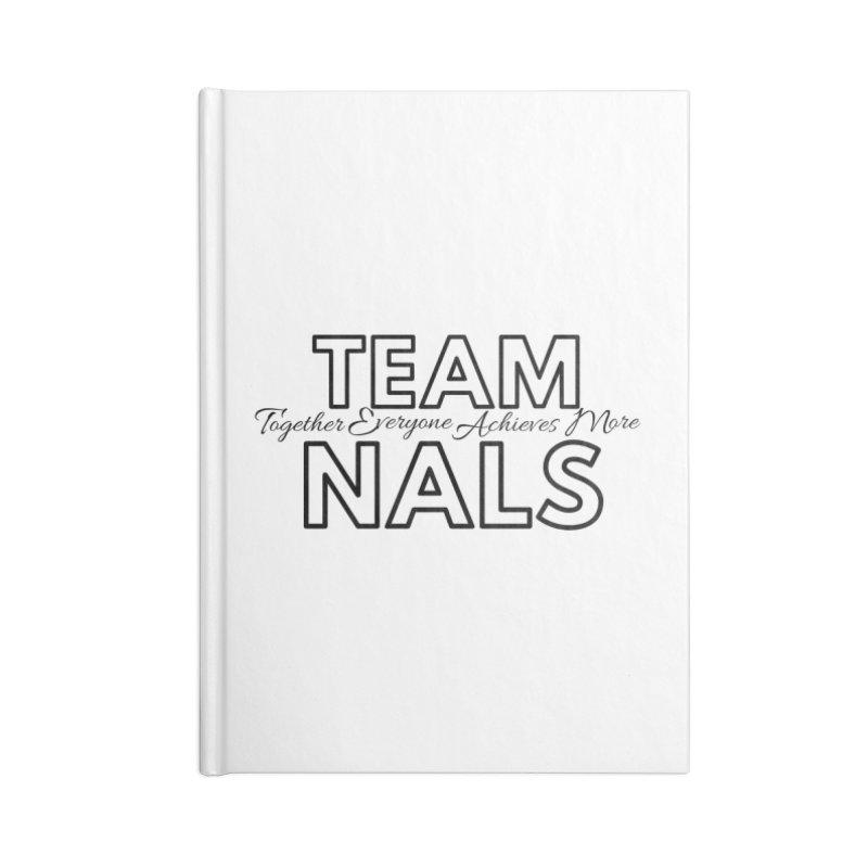 Team NALS Accessories Blank Journal Notebook by NALS Apparel & Accessories