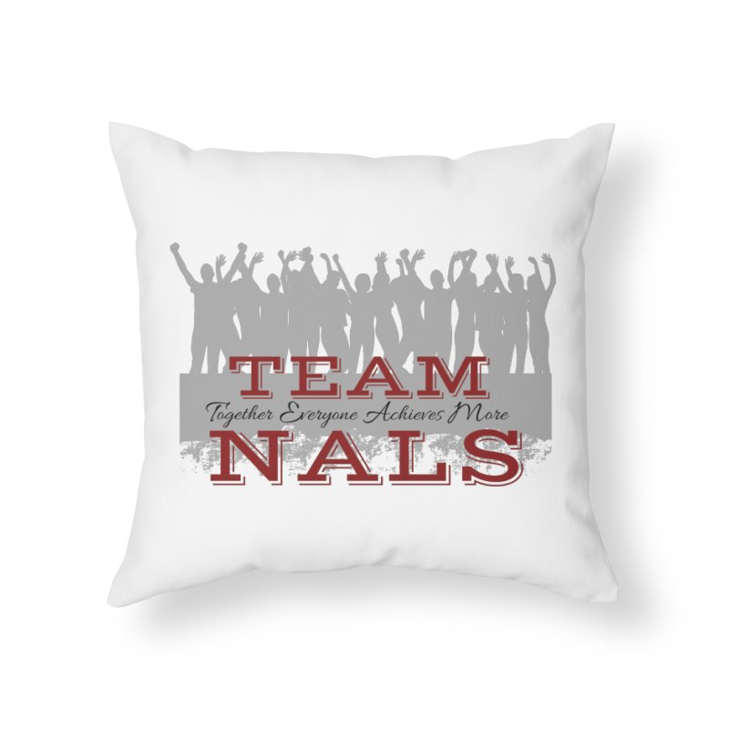 Welcome Home Throw Pillow by NALS Apparel & Accessories