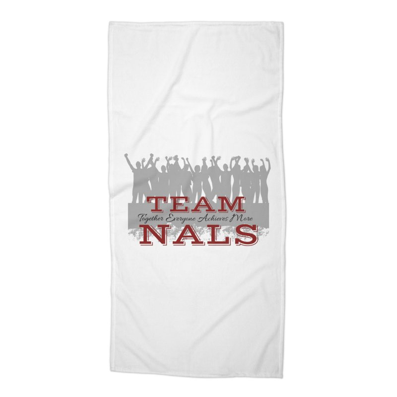 Welcome Accessories Beach Towel by NALS Apparel & Accessories