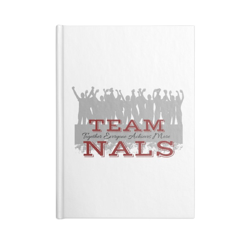 Welcome Accessories Lined Journal Notebook by NALS Apparel & Accessories