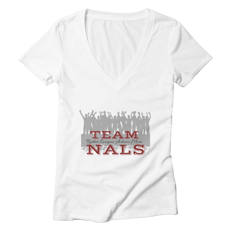 Welcome Women's V-Neck by NALS Apparel & Accessories