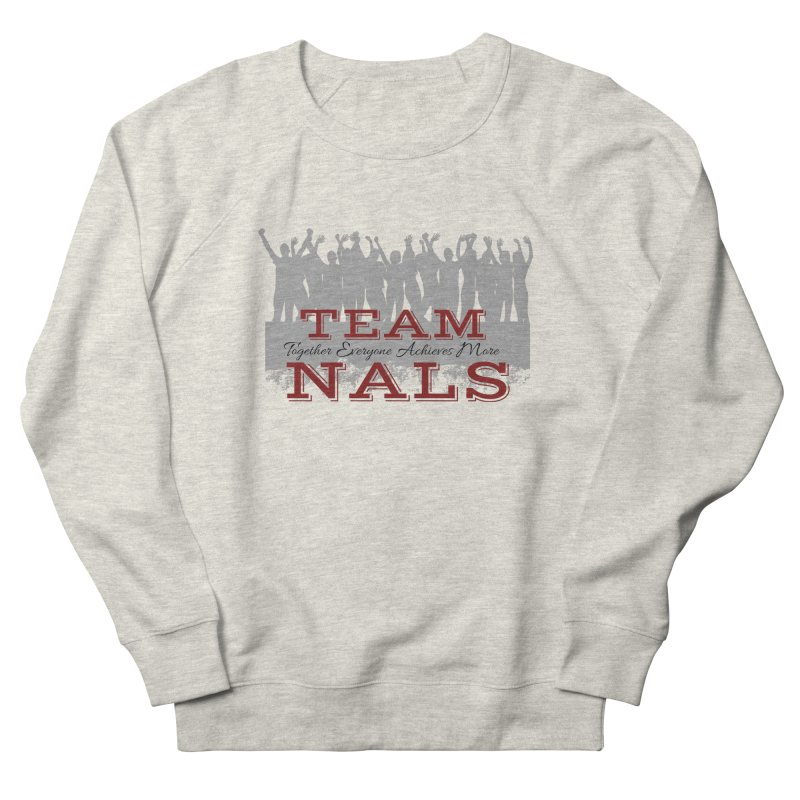 Welcome Women's French Terry Sweatshirt by NALS Apparel & Accessories