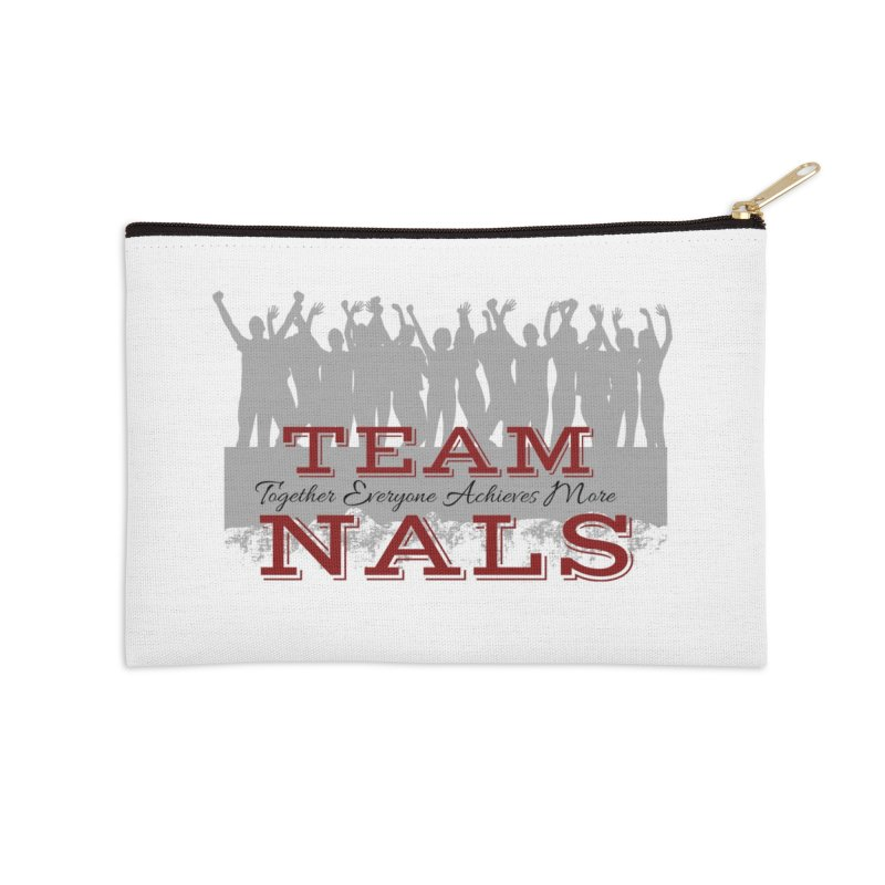 Welcome Accessories Zip Pouch by NALS Apparel & Accessories