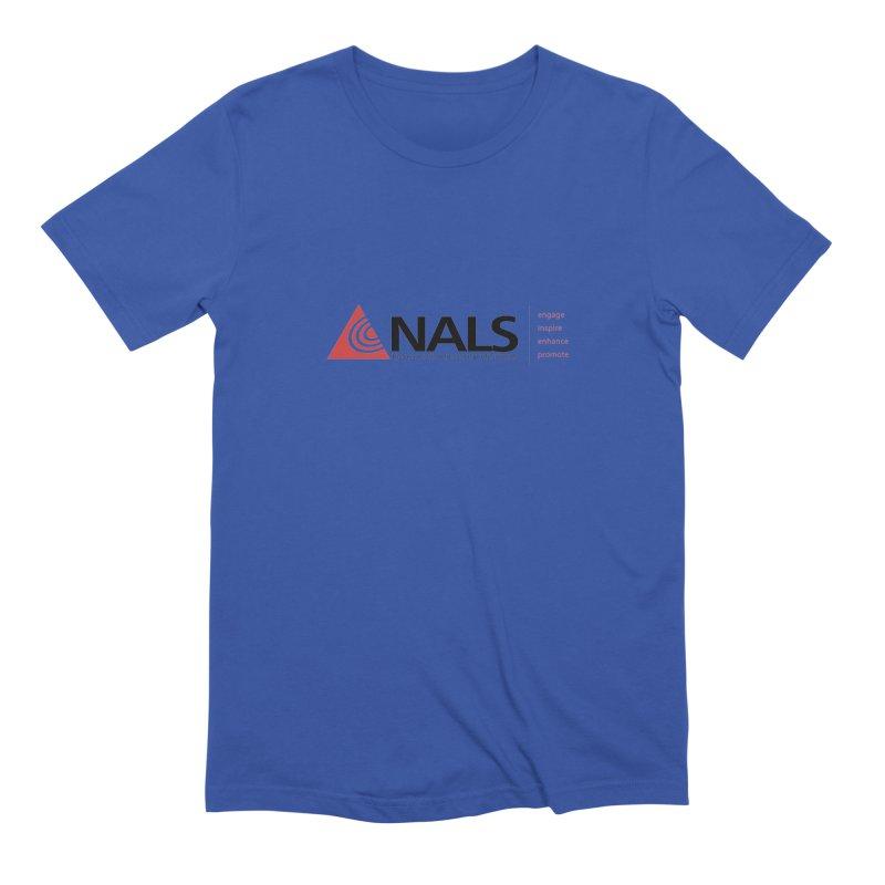 NALS Main Logo Men's T-Shirt by NALS Apparel & Accessories