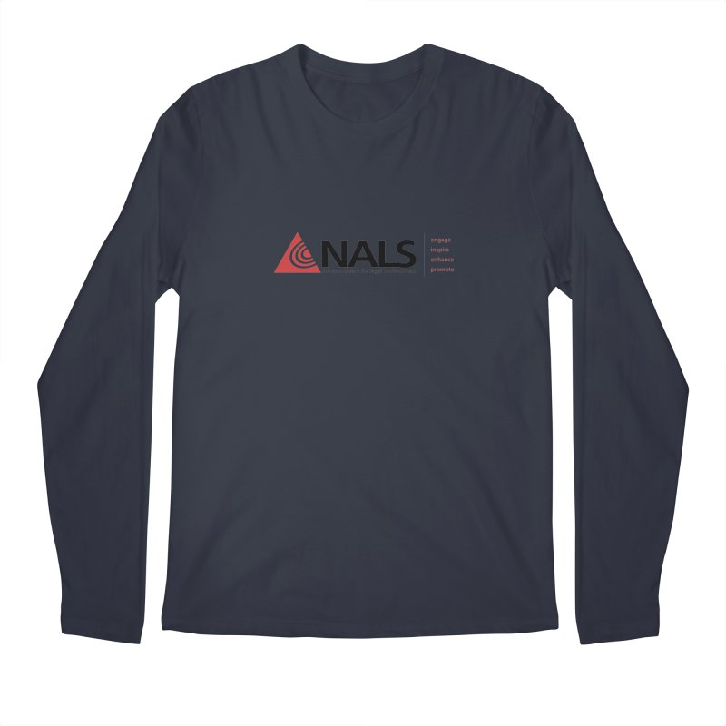NALS Main Logo Men's Longsleeve T-Shirt by NALS Apparel & Accessories