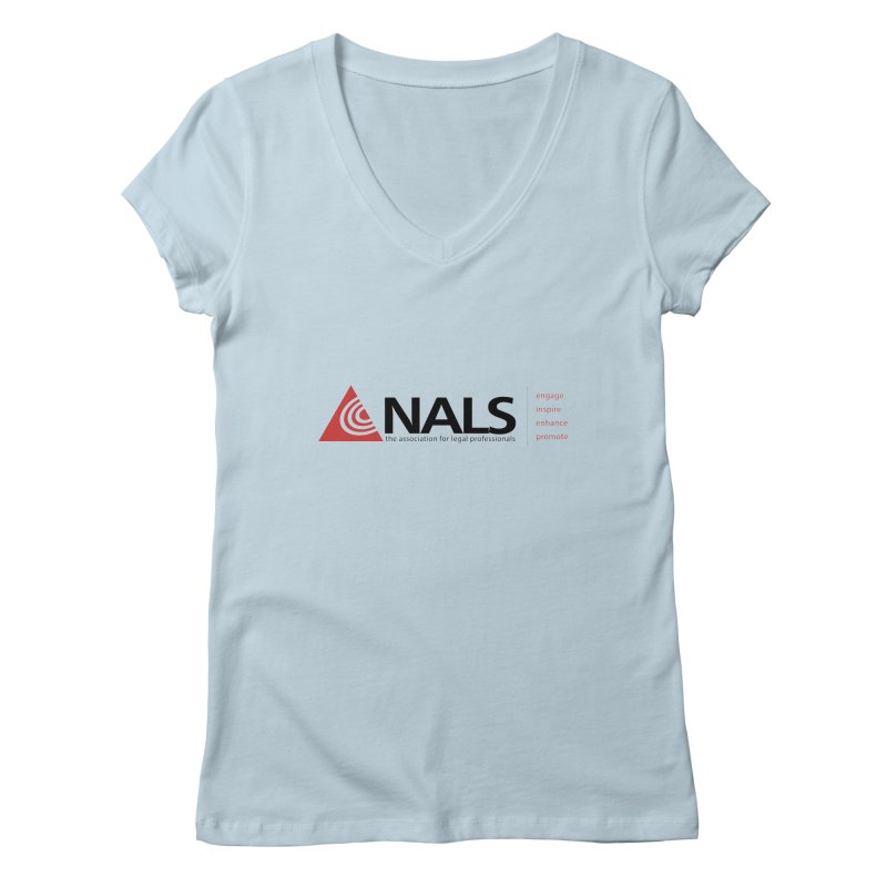 NALS Main Logo Women's V-Neck by NALS Apparel & Accessories