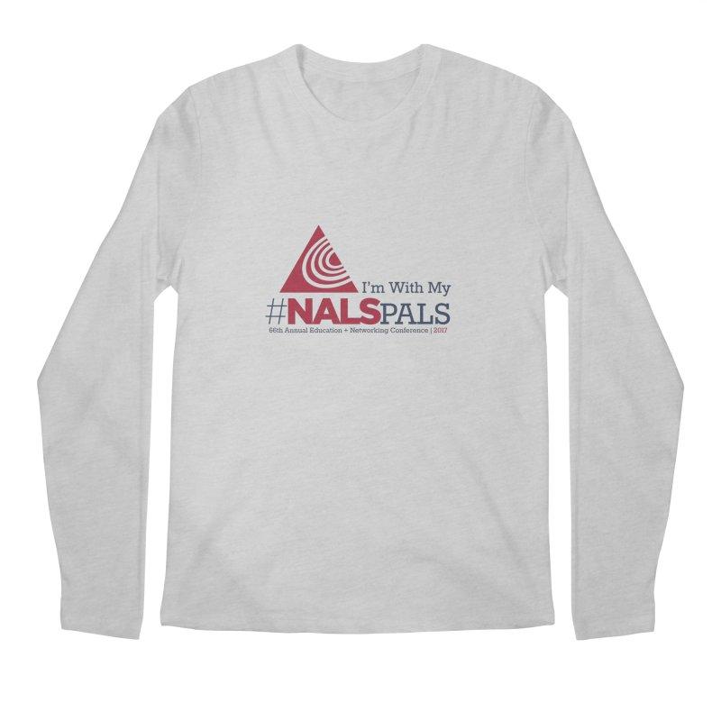 Norfolk 2017: #NALSPALS Men's Regular Longsleeve T-Shirt by NALS Apparel & Accessories