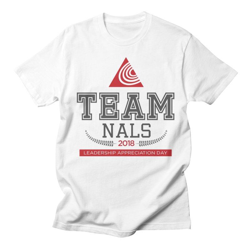 Event Logo - Full Color Men's Regular T-Shirt by NALS.org Apparel Shop