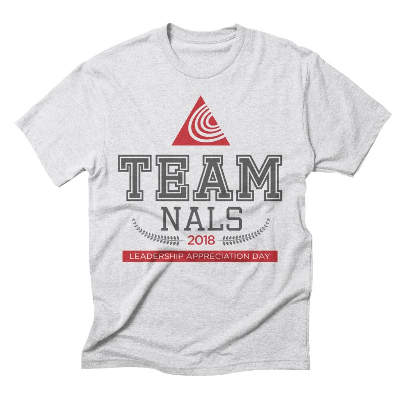 Event Logo - Full Color Men's Triblend T-Shirt by NALS.org Apparel Shop