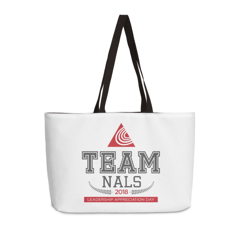 Event Logo - Full Color Accessories Weekender Bag Bag by NALS.org Apparel Shop