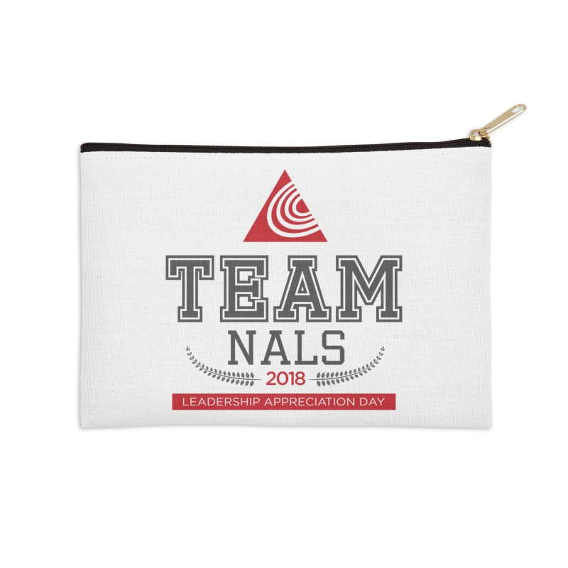 Event Logo - Full Color Accessories Zip Pouch by NALS.org Apparel Shop