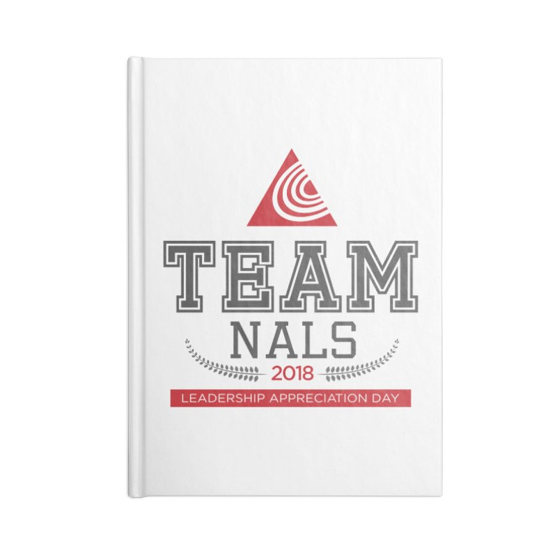 Event Logo - Full Color Accessories Lined Journal Notebook by NALS Apparel & Accessories