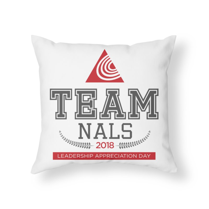 Event Logo - Full Color Home Throw Pillow by NALS.org Apparel Shop