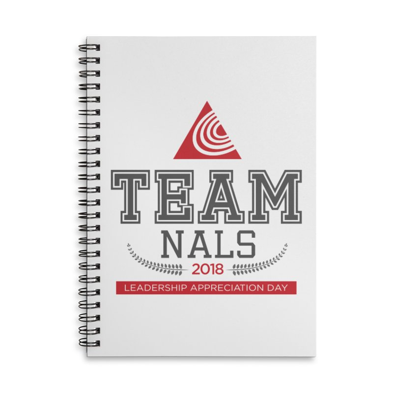 Event Logo - Full Color Accessories Lined Spiral Notebook by NALS.org Apparel Shop