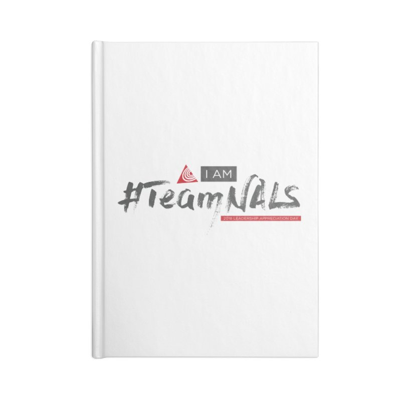 #TeamNALS - Color Accessories Lined Journal Notebook by NALS.org Apparel Shop