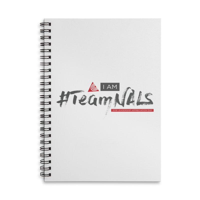 #TeamNALS - Color Accessories Lined Spiral Notebook by NALS.org Apparel Shop