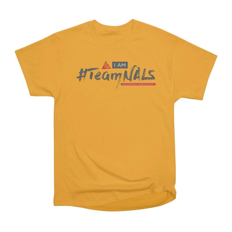 #TeamNALS - Color Women's Heavyweight Unisex T-Shirt by NALS.org Apparel Shop