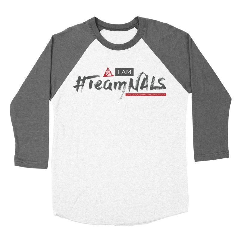 #TeamNALS - Color Women's Baseball Triblend Longsleeve T-Shirt by NALS.org Apparel Shop