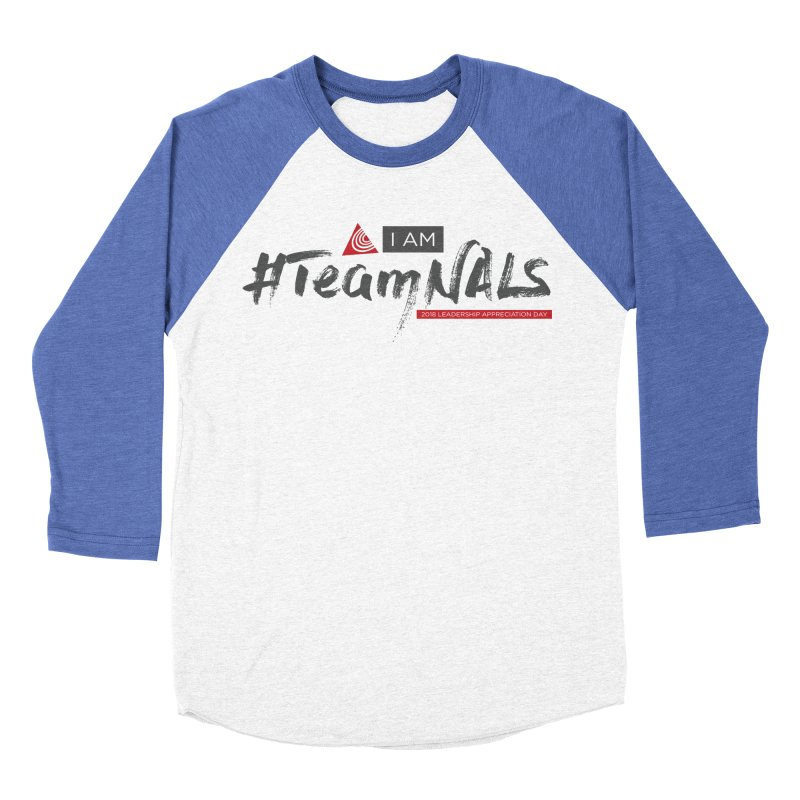#TeamNALS - Color Men's Baseball Triblend Longsleeve T-Shirt by NALS.org Apparel Shop