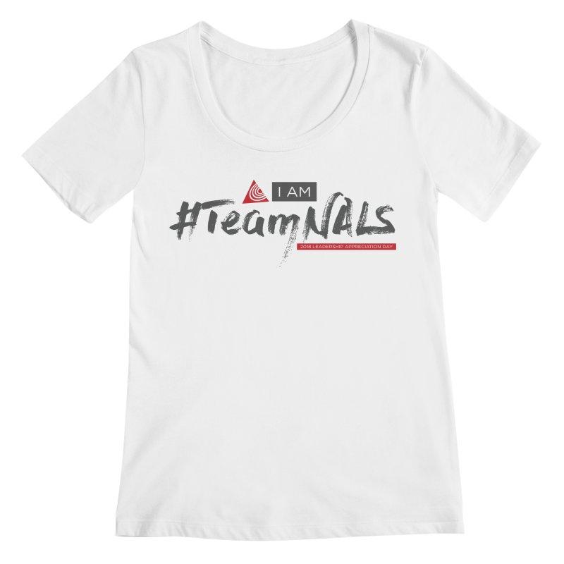 #TeamNALS - Color Women's Regular Scoop Neck by NALS.org Apparel Shop