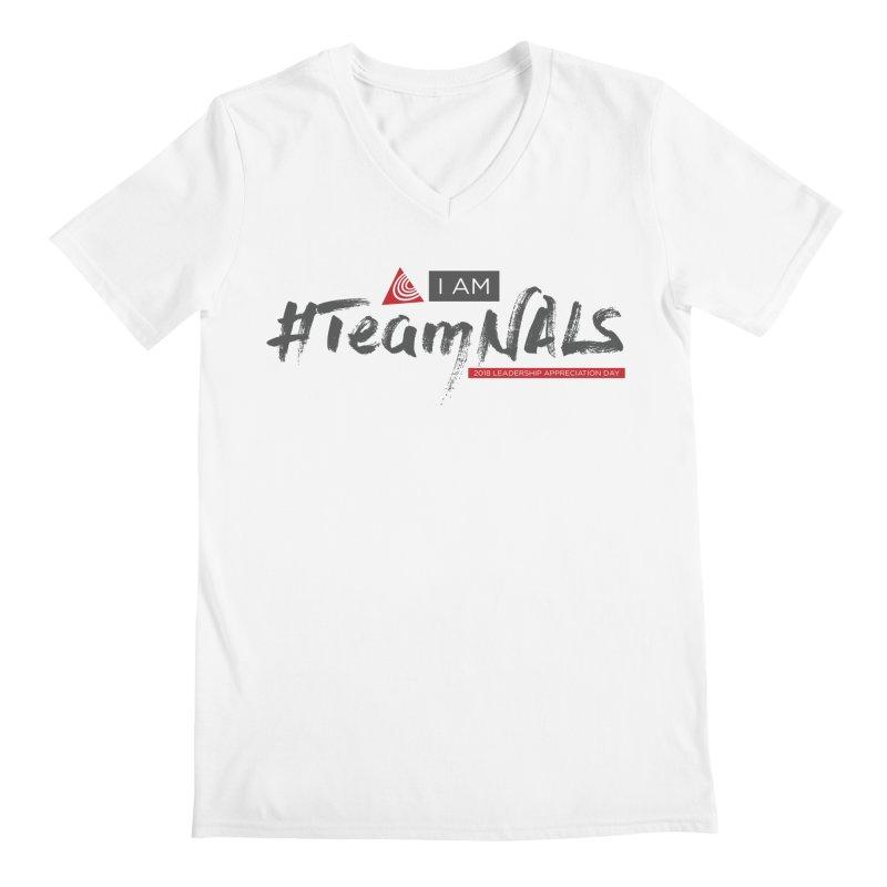 #TeamNALS - Color Men's Regular V-Neck by NALS.org Apparel Shop