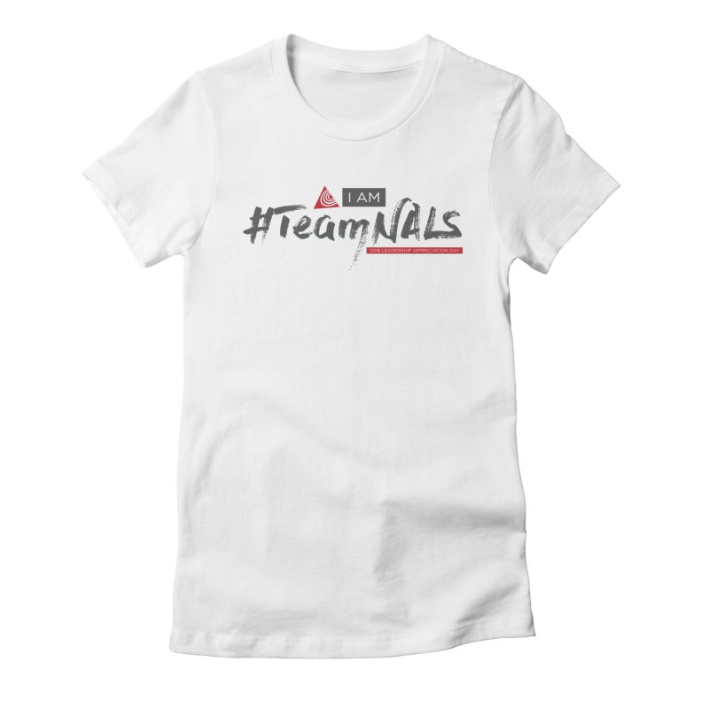 #TeamNALS - Color Women's Fitted T-Shirt by NALS.org Apparel Shop