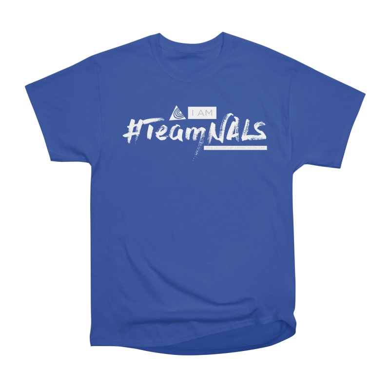 #TeamNALS-White Women's T-Shirt by NALS.org Apparel Shop