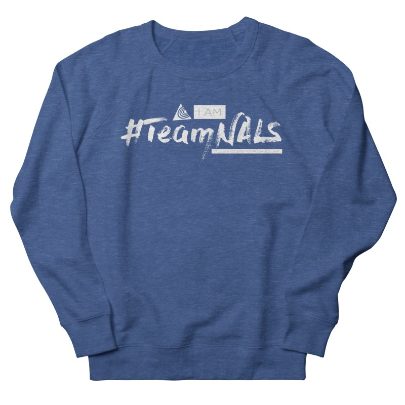 #TeamNALS-White Men's Sweatshirt by NALS.org Apparel Shop
