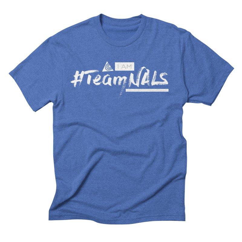 #TeamNALS-White Men's T-Shirt by NALS.org Apparel Shop