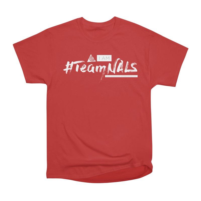 #TeamNALS-White Men's Heavyweight T-Shirt by NALS.org Apparel Shop
