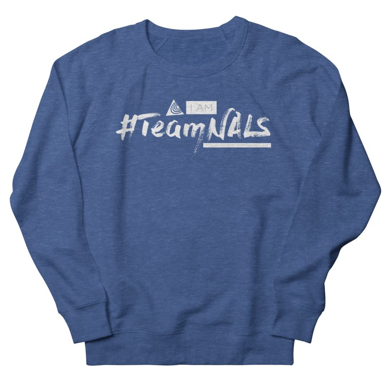#TeamNALS-White Women's French Terry Sweatshirt by NALS.org Apparel Shop