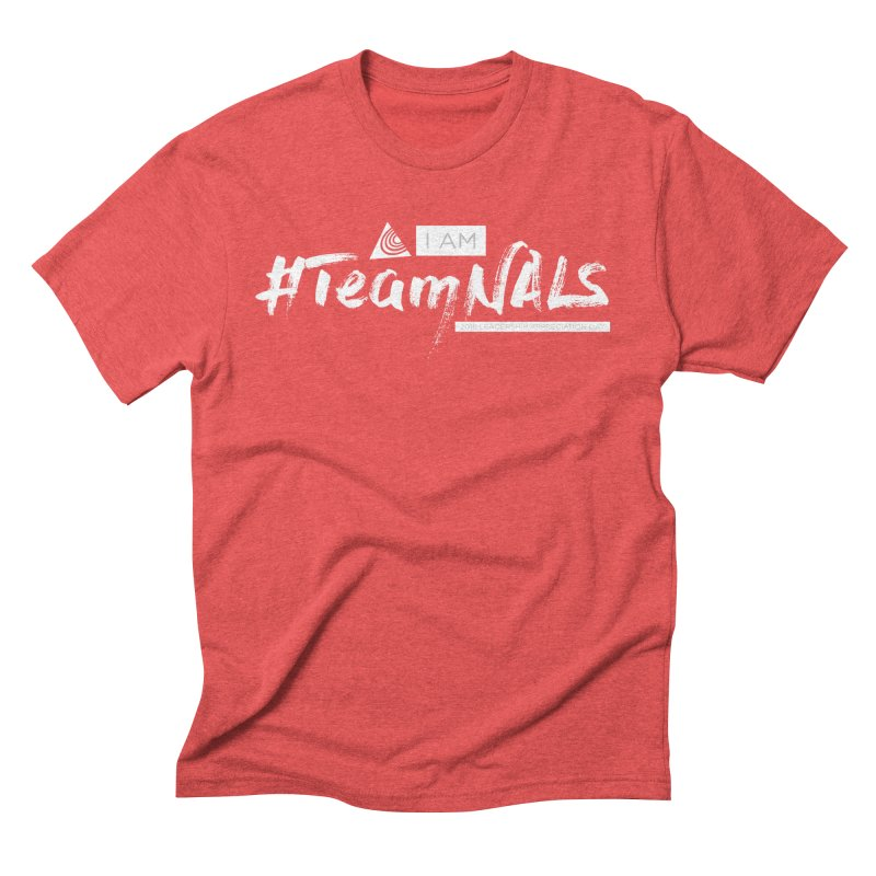 #TeamNALS-White Men's Triblend T-Shirt by NALS.org Apparel Shop