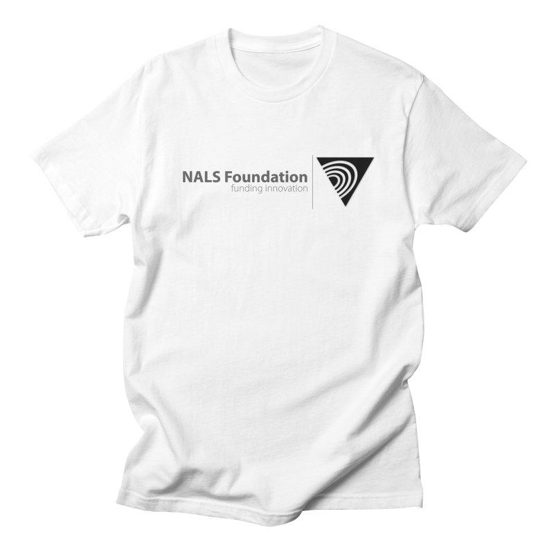 NALS Foundation Greyscale Logo Men's Regular T-Shirt by NALS.org Apparel Shop