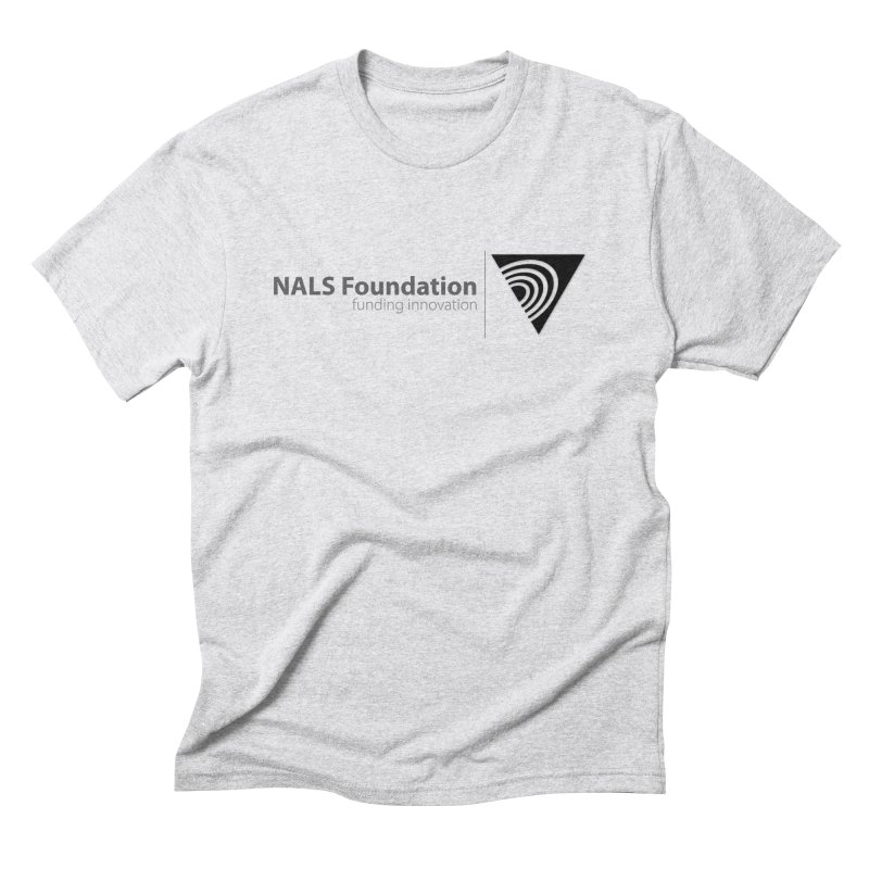 NALS Foundation Greyscale Logo Men's T-Shirt by NALS Apparel & Accessories