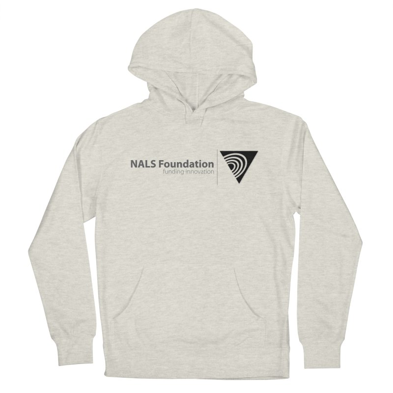NALS Foundation Greyscale Logo Women's French Terry Pullover Hoody by NALS.org Apparel Shop