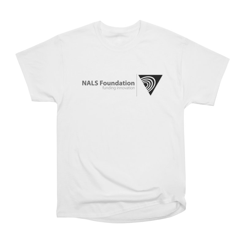 NALS Foundation Greyscale Logo Men's Heavyweight T-Shirt by NALS.org Apparel Shop