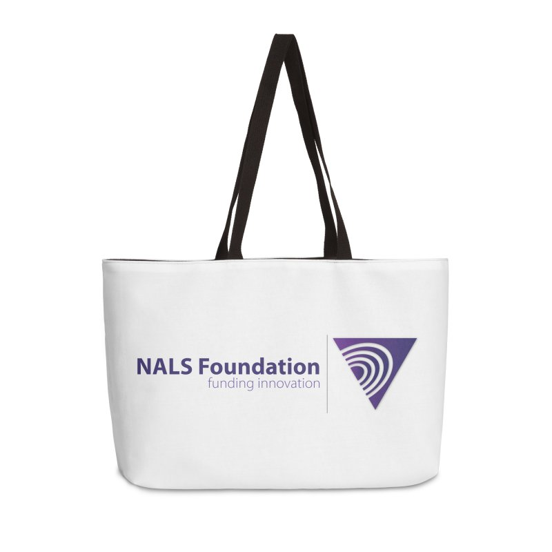 NALS Foundation - Color Accessories Weekender Bag Bag by NALS.org Apparel Shop