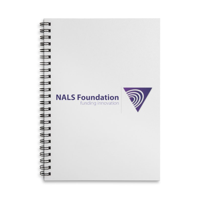 NALS Foundation - Color Accessories Lined Spiral Notebook by NALS.org Apparel Shop